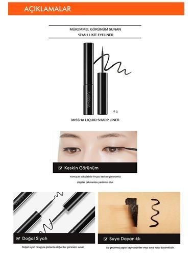 Missha Liquid Sharp Liner Suya Dayanıklı Likit Eyeliner Renksiz